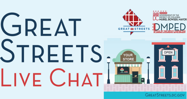 Great Streets Small Business Grant - Online LIVE CHAT