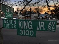 Martin Luther King Jr. Avenue and South Capitol Street, SE